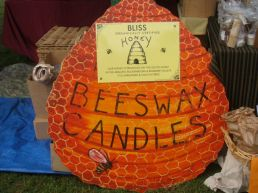 fragrant beeswax candles