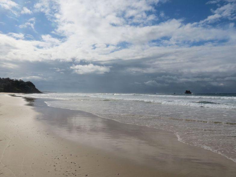 phew, beach to ourselves again!
