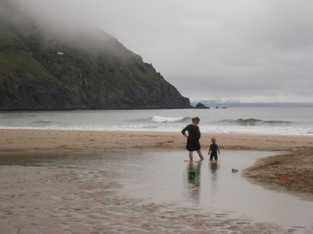 Coumineole Beach Ireland, September