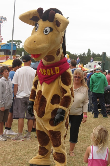 Harold the health giraffe