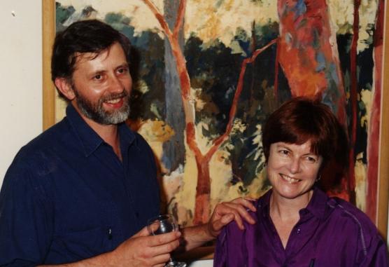 1993 Stuart's art opening