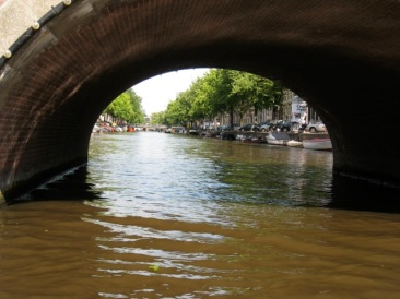 canal view Amsterdam