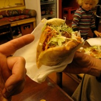 Lunchtime: Falafel in Switzerland