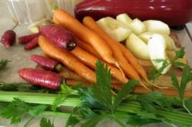 vegetables for juicing
