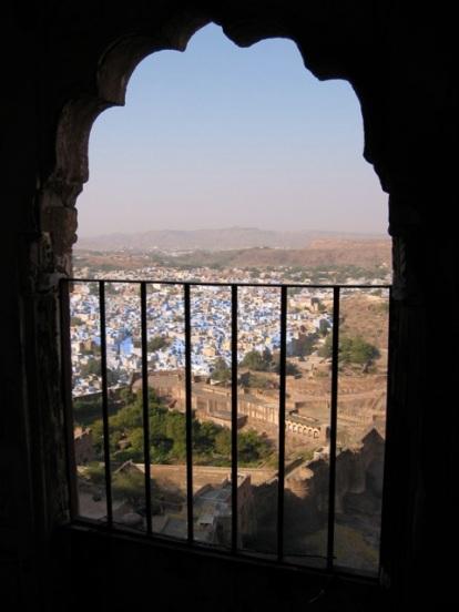 Jodphur framed in arch