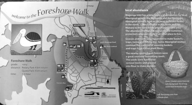 map of Wagonga Inlet