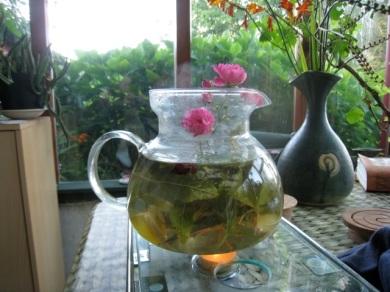 teapot arrangement