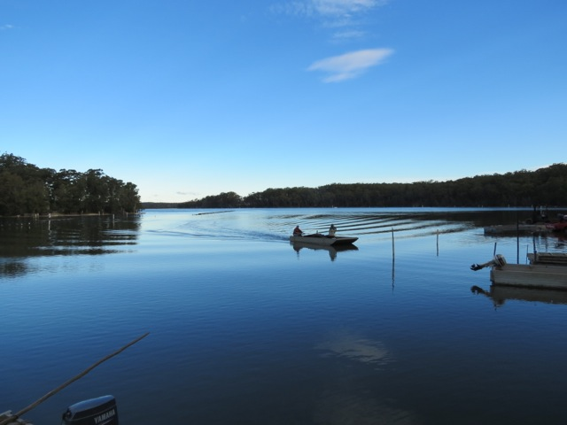 quiet bay on Tuross Lake