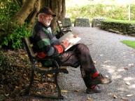 artist sketching at Ballyvourney