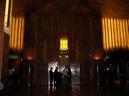 chrysler building foyer new york