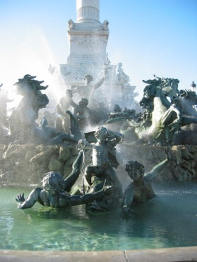 fountain, Bordeaux