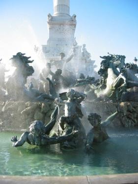 fountain, Bordeaux