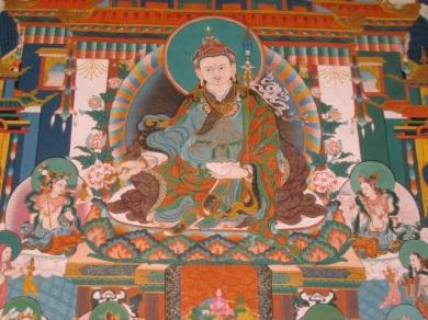 Padmasambava, second Buddha, who brough Buddhism to Tibet and Bhutan