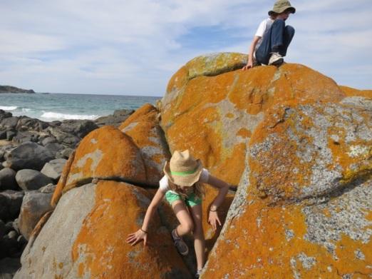 climbing at Grey Rocks