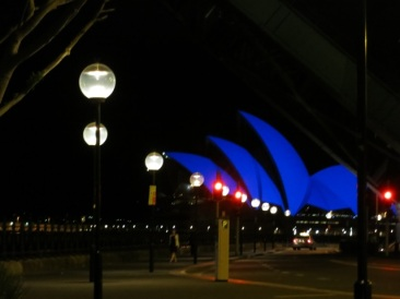 Opera House was blue for Aspergers Awareness Week