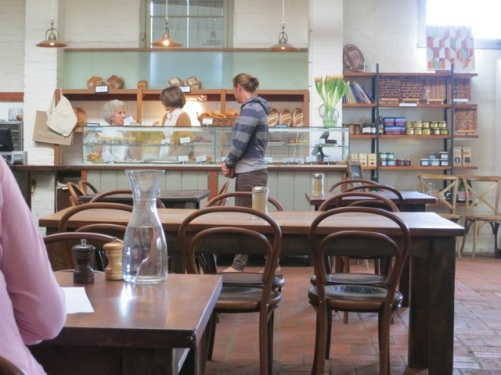 Berry Bakery for woodfired sourdough and tasty lunch