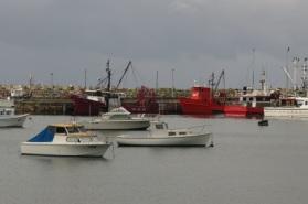 red boats at Ulladulla