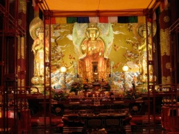chinese buddhist temple, singapore
