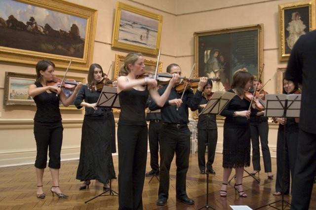 Art Gallery of NSW musical recital