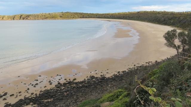 our beach from Meringo Headland