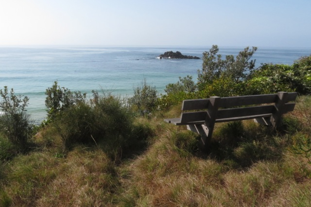 Seat on Meringo Headland