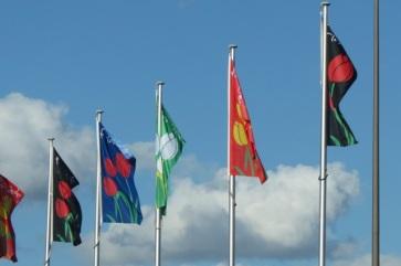 Floriade flags