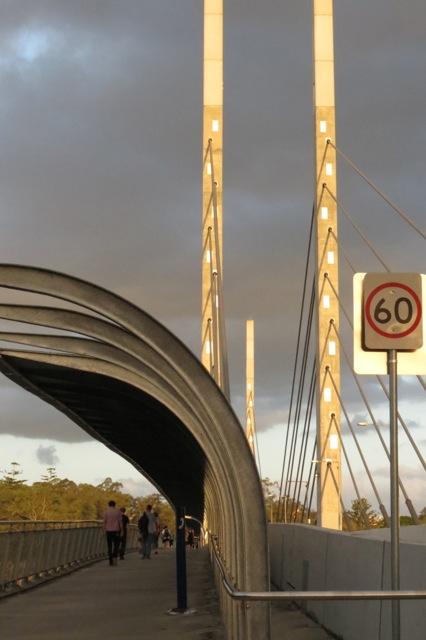 Eleanor Schonell Bridge, between Dutton Park and UQ's St Lucia campus