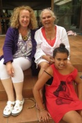 Janine, Dierdre and Kaylee