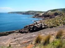 Green Cape shoreline
