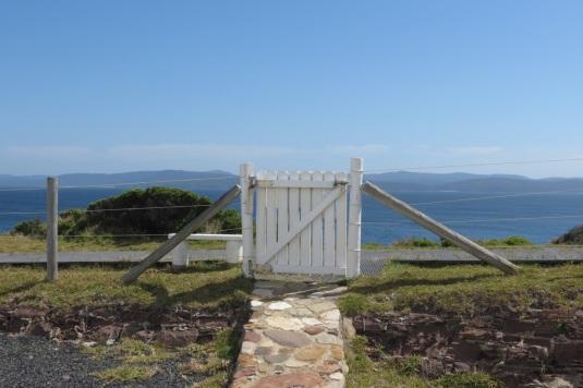 cottage back gate