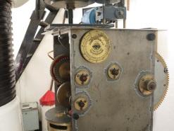 original mechanism for turning the light