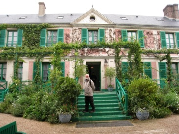 Claud Monet's house Giverney