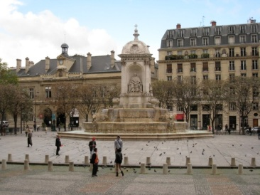 Fountain of the Four Bishops, Place St Sulpice