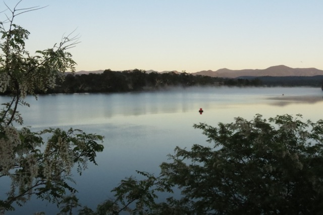 Moruya River, looking West from the bridge