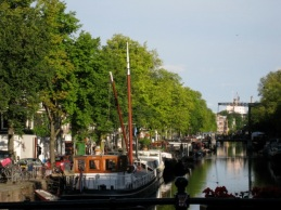 leafy streets, tranquil canals