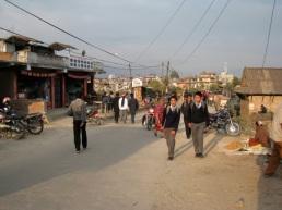 suburban life, Kathmandu