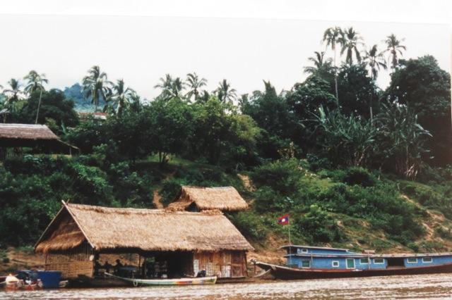 typical river village