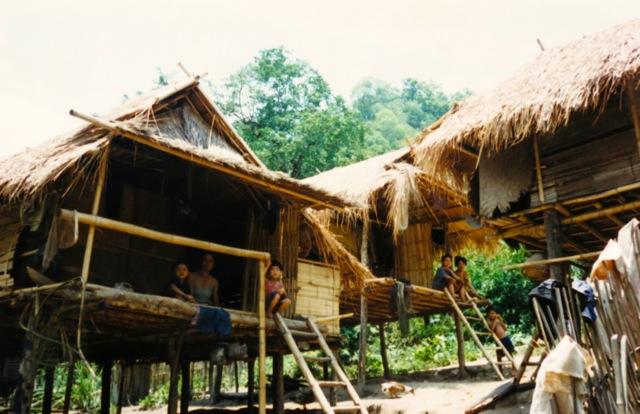 Bon Noy, a Khymer village