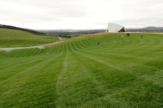 view to Margaret Whitlam Pavilion