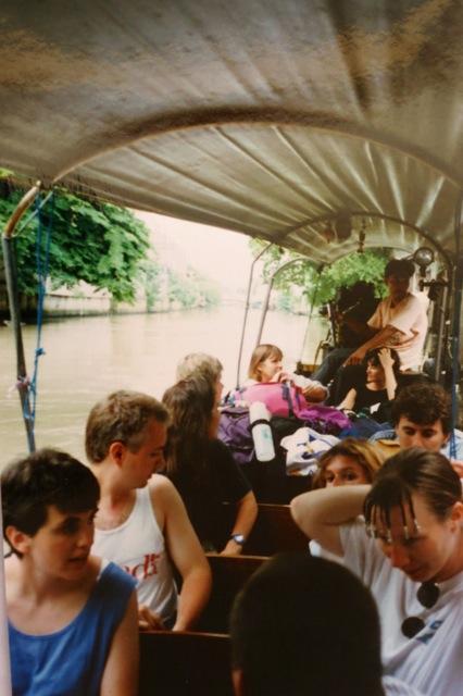 longtailed boat, Bangkok