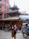 rickshaw and bikes